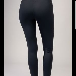 90 Degree By Reflex Black Leggings With Fleece
